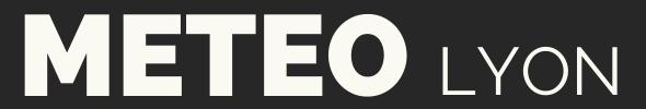 Meteo Lyon Logo Gauche