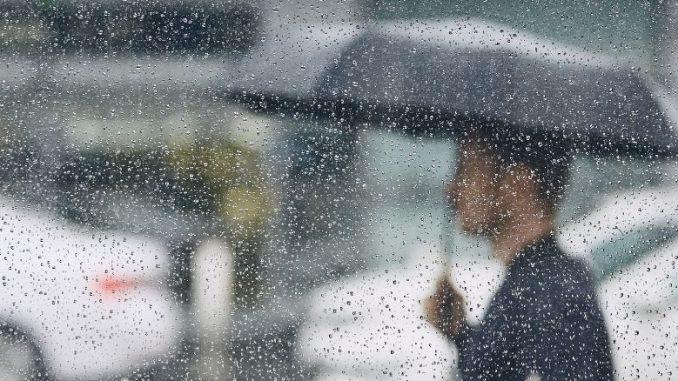 Pluie Averse Meteo Lyon